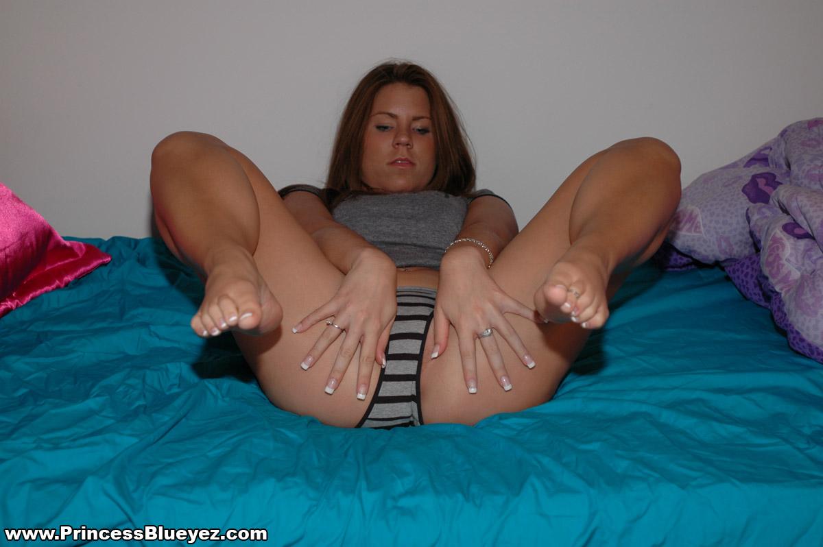Really. All Wet panties legs spread